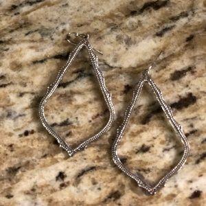 Kendra Silver Earrings